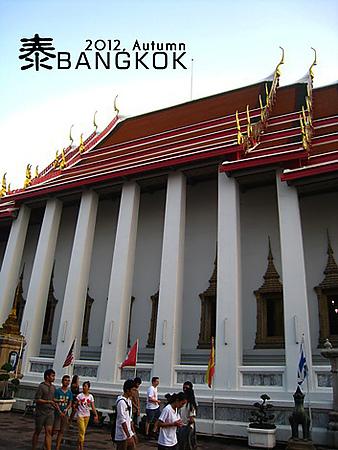 2012,秋,曼谷:: 曼谷必去WAT PHO臥佛寺