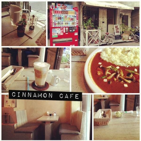 沖繩那霸:: Cinnamon Cafe,夏日午後靜謐的一隅
