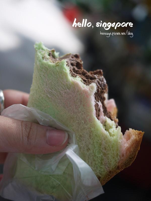 2013,新加坡│冰淇淋吐司:: 療癒系甜品,好吃新奇又好玩
