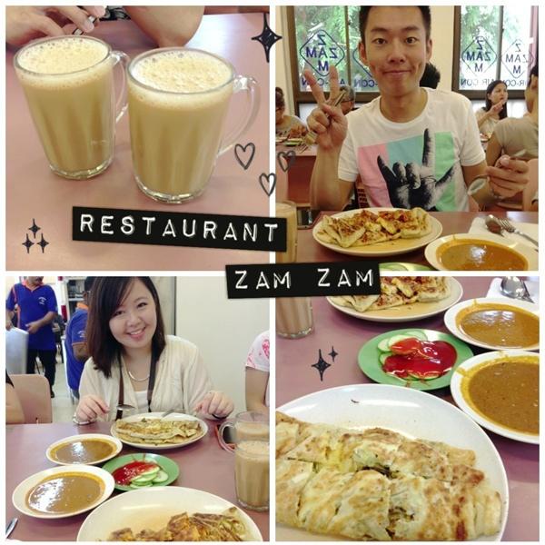 新加坡│Zam Zam Restaurant::誠意十足的傳統印度料理餐廳