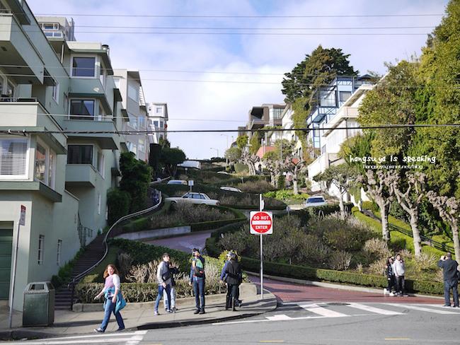 美西蜜月行│舊金山 九曲花巷 Lombard Street全世界最蜿蜒的小徑
