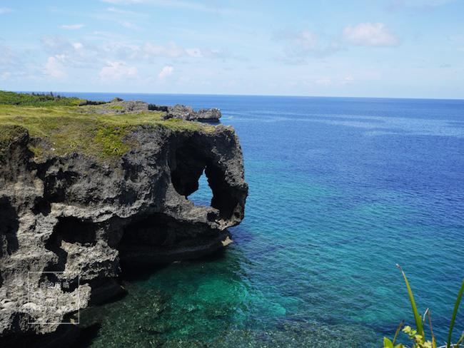 沖繩|萬座毛 來看象鼻子