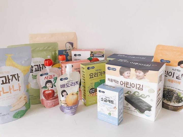 育兒|團購 韓國嬰兒輔食第一名 Bebecook系列推薦